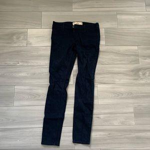 hollister navy blue pants
